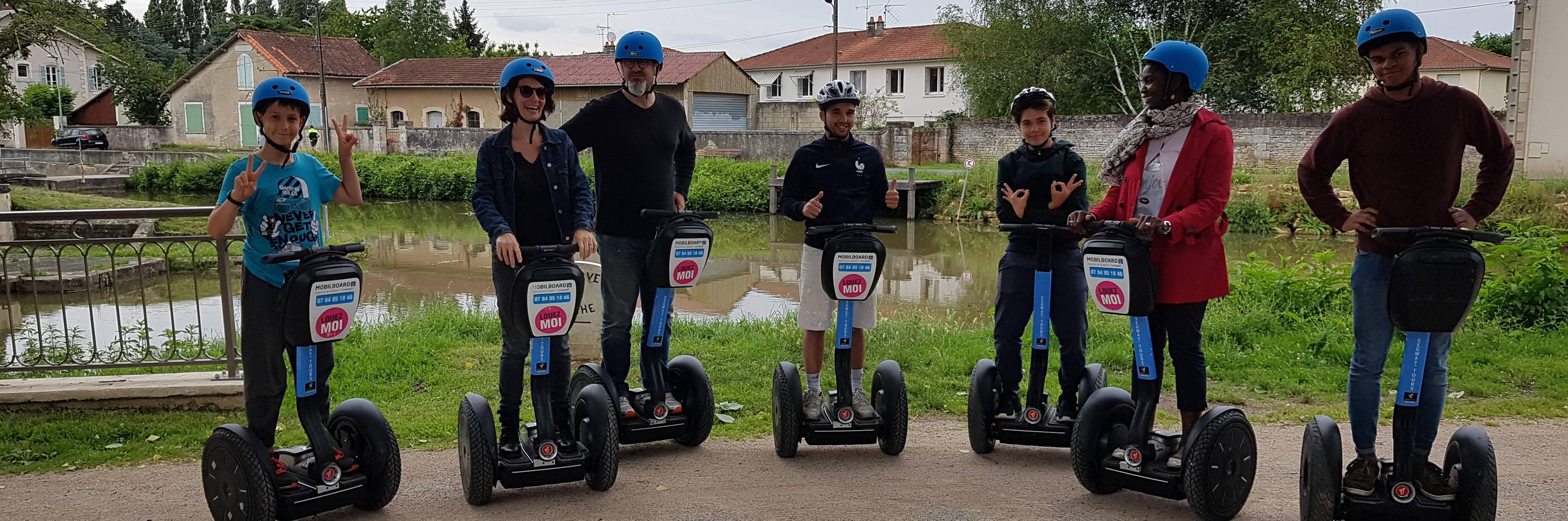 A Segway tour in Niort