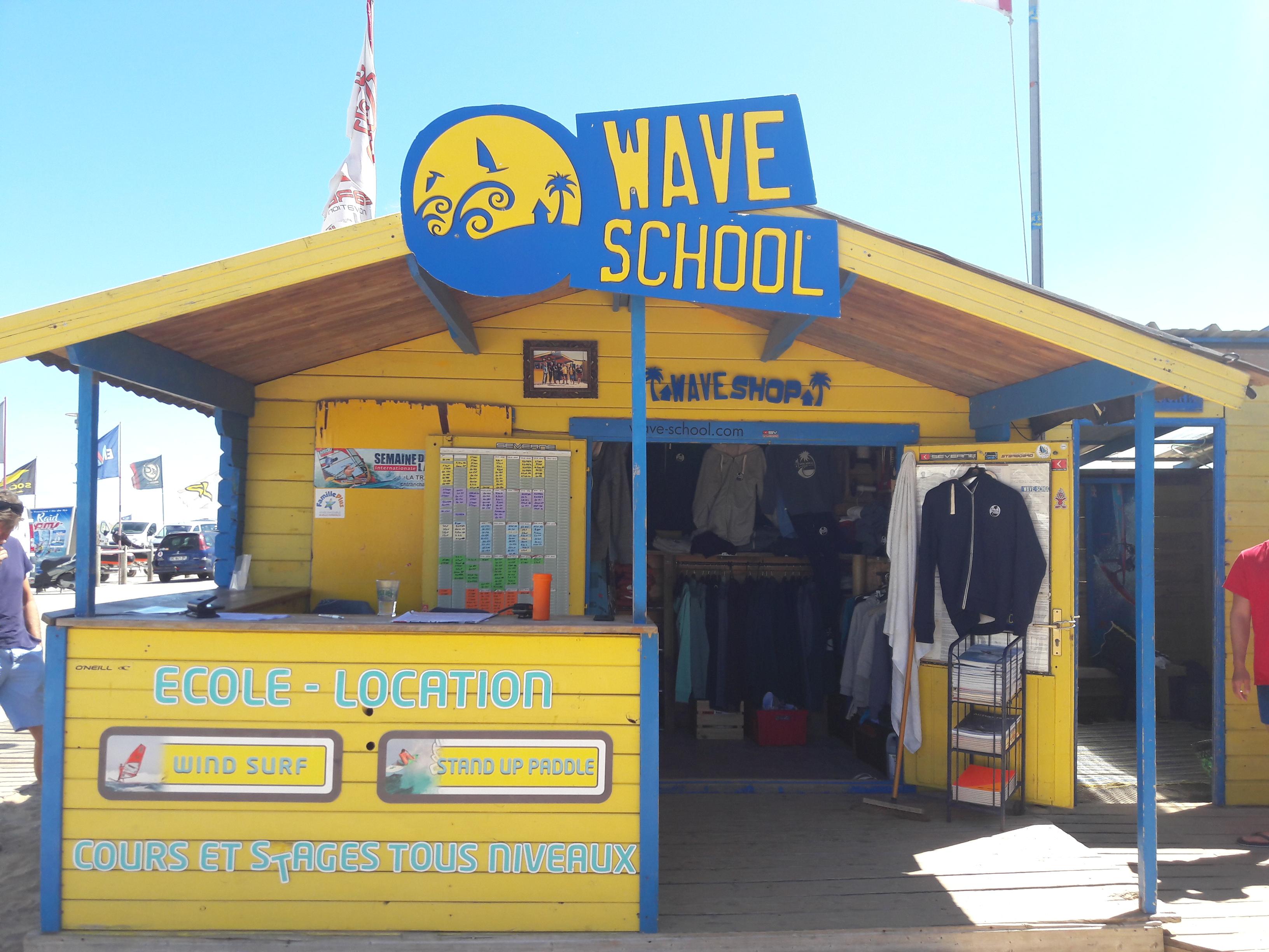 Wave school à La Tranche sur Mer dans le Marais poitevin