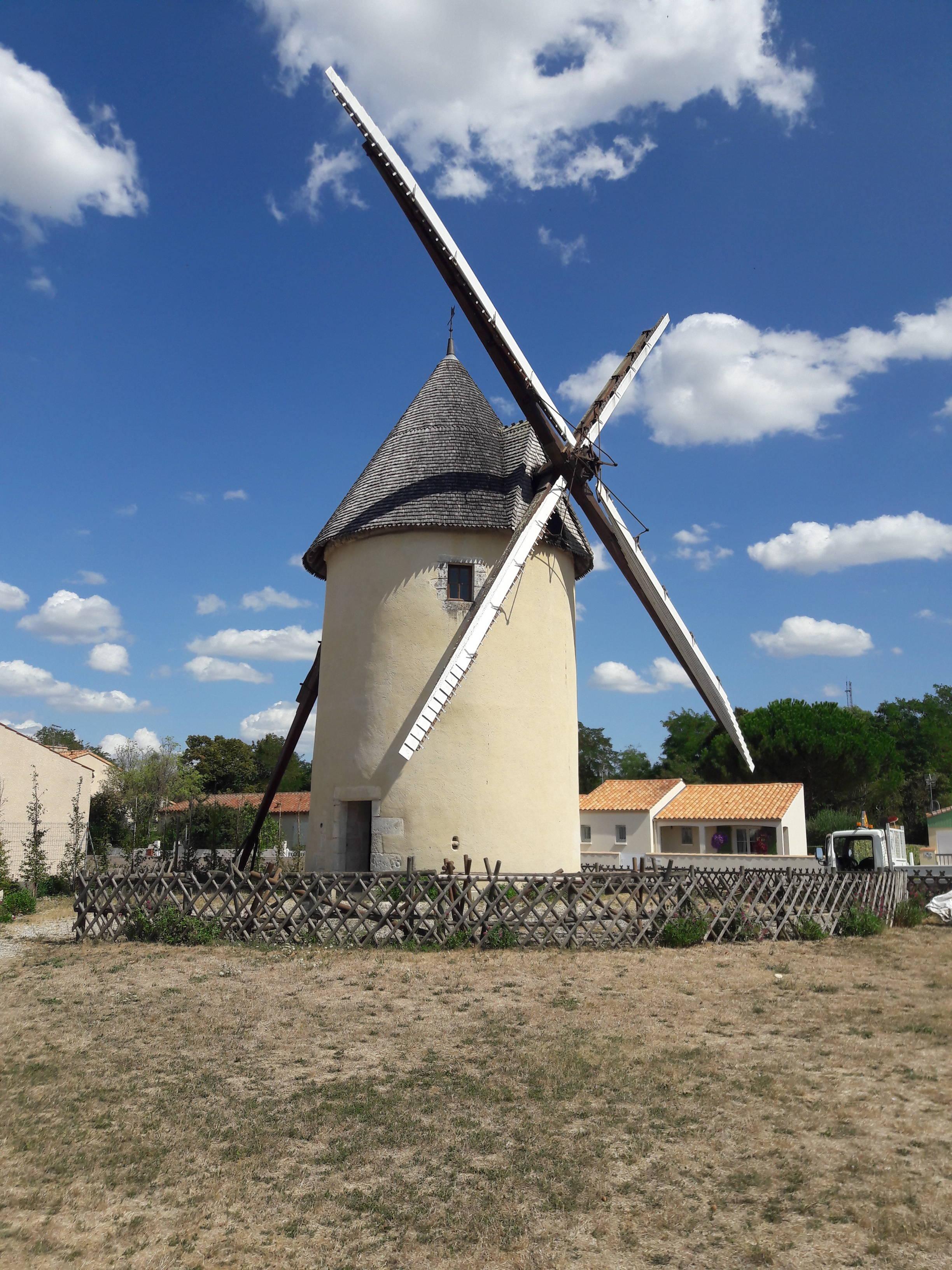 the Beauregard mill in Marans in the Marais poitevin régional nature park.
