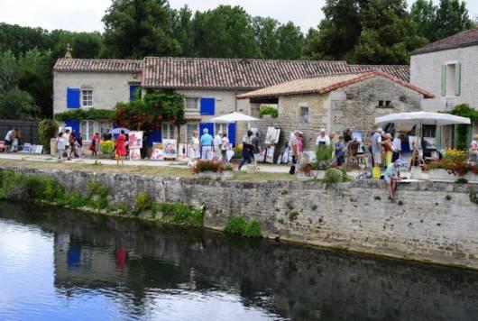 Festival de peinture de Magné au coeur du Marais poitevin