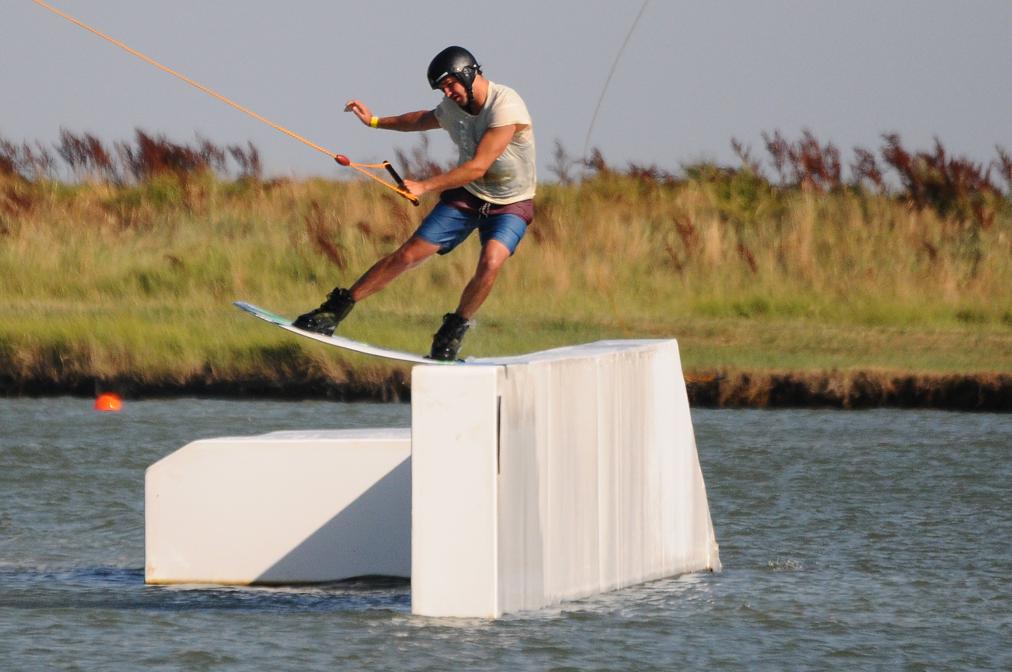 Teleski in Atlantic-Wakepark.