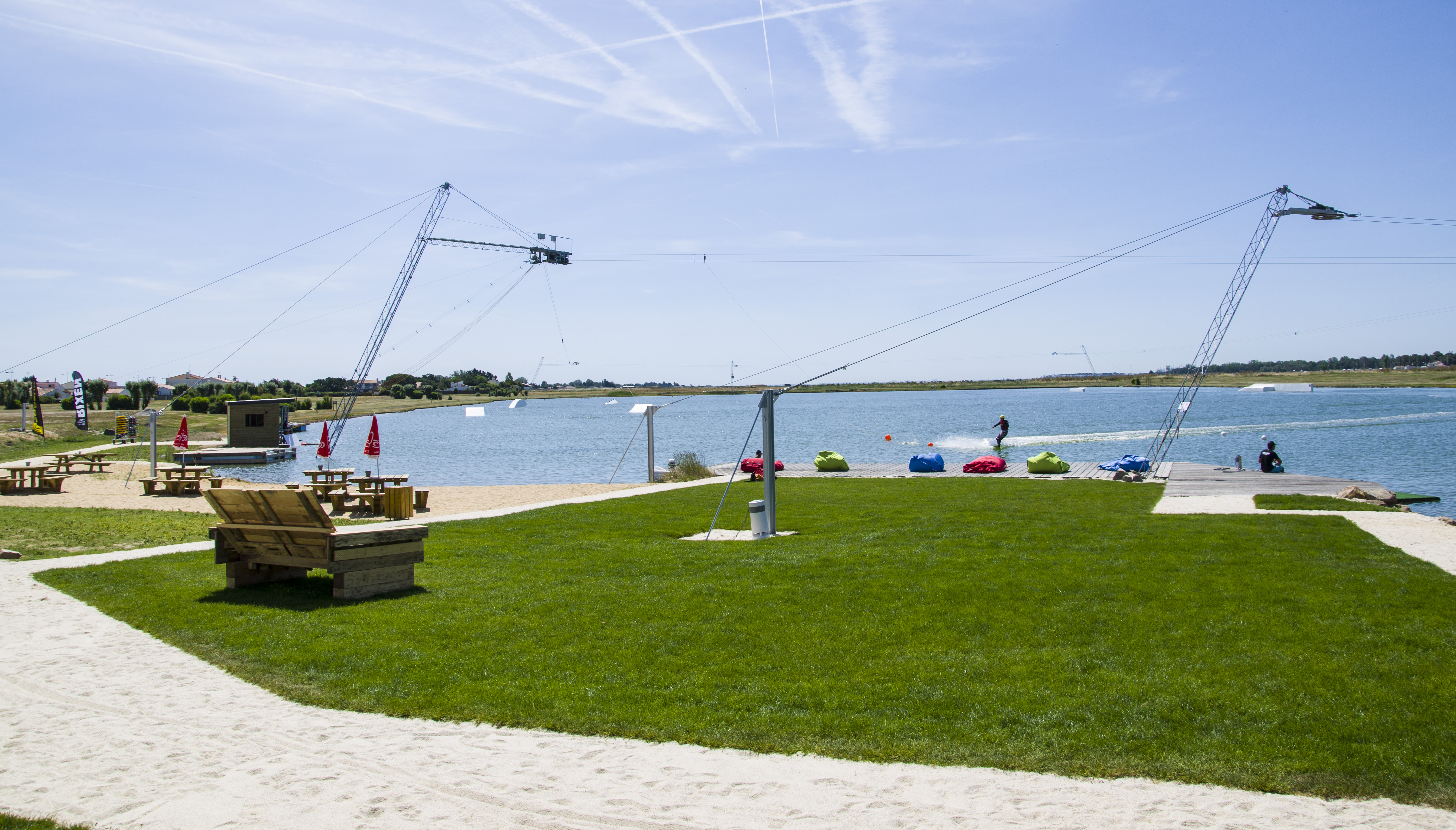Atlantic-Wakepark in l'Aiguillon sur Mer.