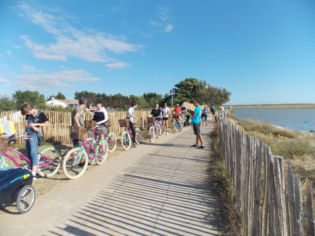 Balade guidée à vélo au bord de mer avec Original Vélo Tour