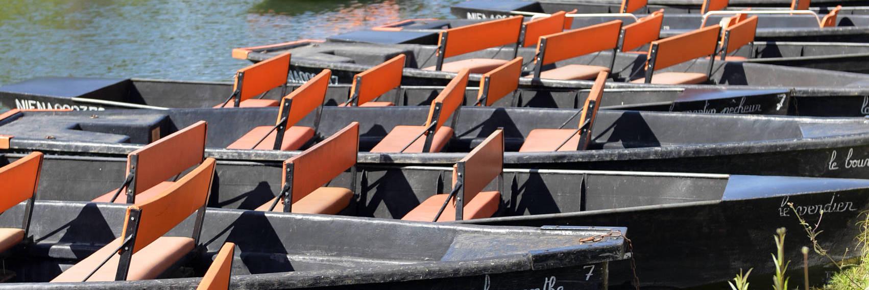 Le Marais poitevin en barque
