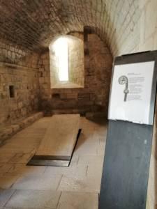 Intérieur de l'abbaye royale.