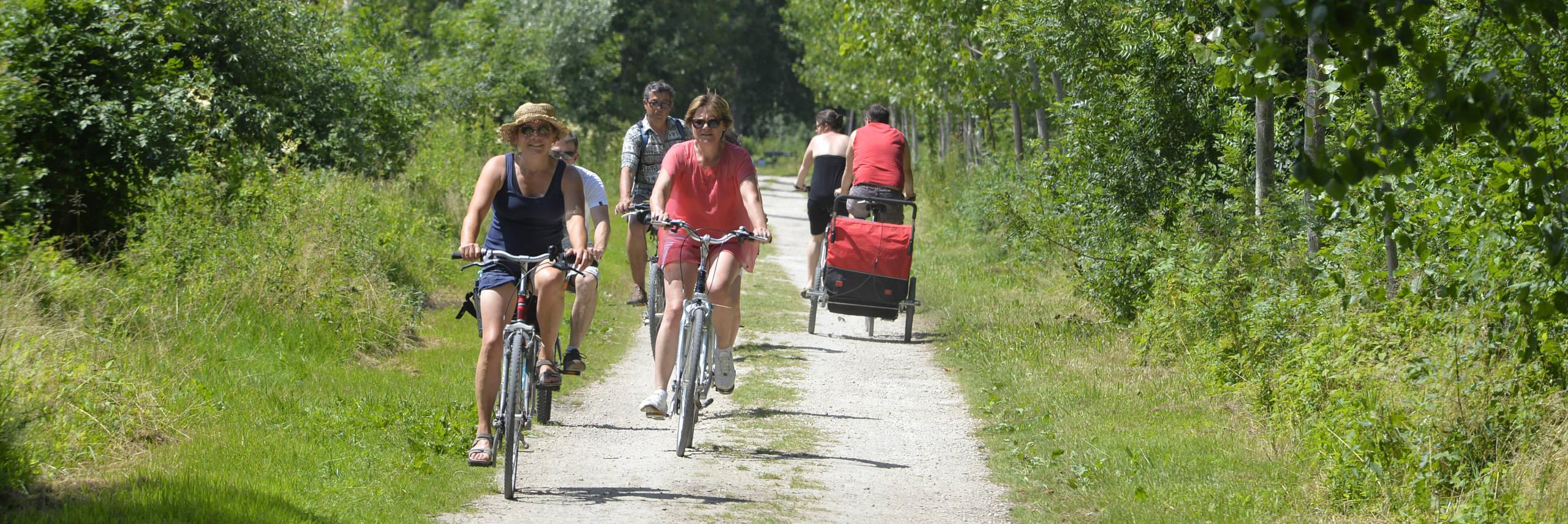 Le circuit 9, une randonnée vélo au coeur du Marais poitevin,