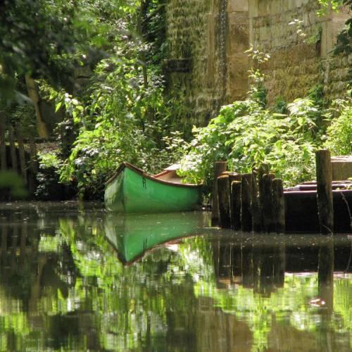 Trip in canoe