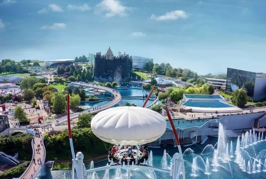 Les attractions du Futuroscope - Parc d'attractions festif, fun et familial, amusement et découverte, sensations physiques et émotions fortes