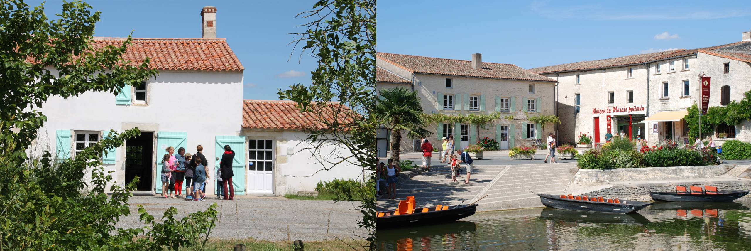 Maison du Maitre de Digues et Maison du Marais poitevin.