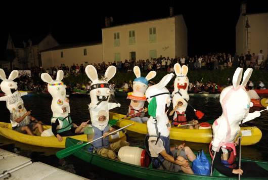 Rallye du Marais poitevin organisé tous les ans en juin à Coulon, commune du Parc nautrel régional du Marais poitevin