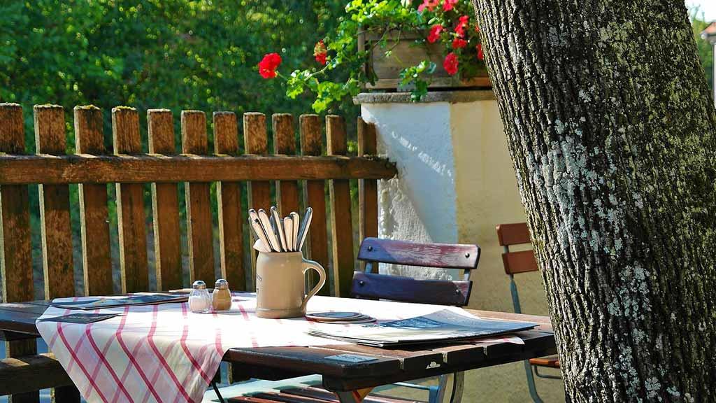 Restaurant dans le Marais poitevin
